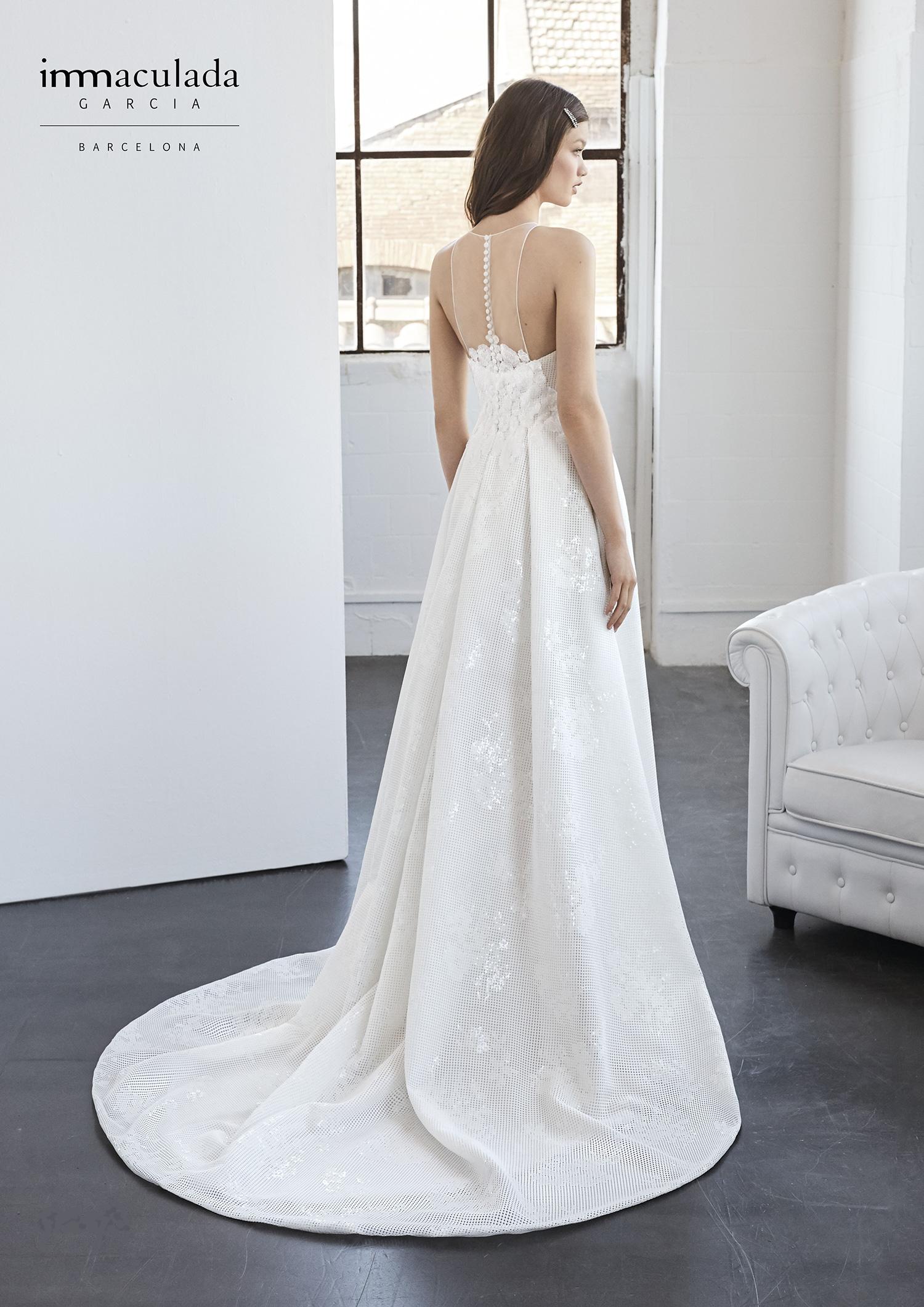 Nuova collezione 2018 Vestitida Sposa Inmaculada Garcia - Fleur de Lys Atelier Sposa