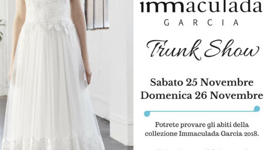 Trunk show con la stilista Inmaculada Garcia - Fleur de Lys Atelier Sposa Treviso