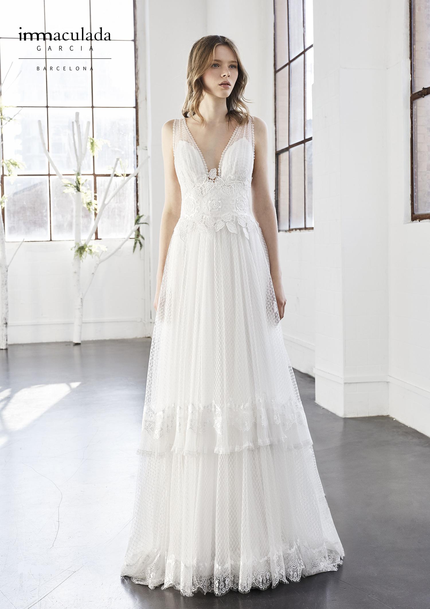 vari tipi di ineguagliabile qualità incredibile Anche nel 2018 la sposa è boho-chic | Fleur de Lys Atelier Sposa