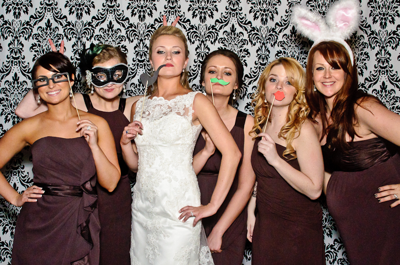 wedding photo booth parete